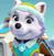 Paw Patrol Everest's Cute Face Emoticon Icon 2