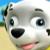 Paw Patrol Marshall's Stupid Face Emoticon Icon