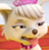 Paw Patrol Sweetie's Disgusted Face Emoticon Icon