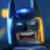 Lego Batman Laughing Close Up Emoticon Icon