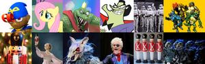 The Nutcracker Characters Recast