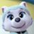 Paw Patrol Everest's Cute Eyes Emoticon Icon by NightmareBear87