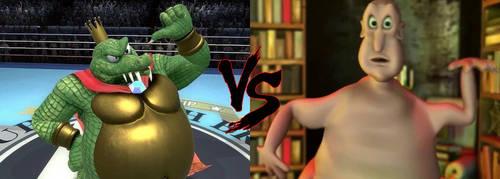 King K. Rool VS. The Globglogabgalab Death Battle by NightmareBear87