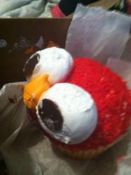 Elmo Cupcake 3