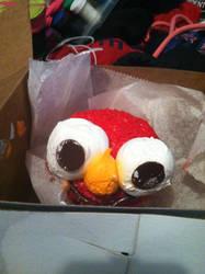 Elmo Cupcake 4