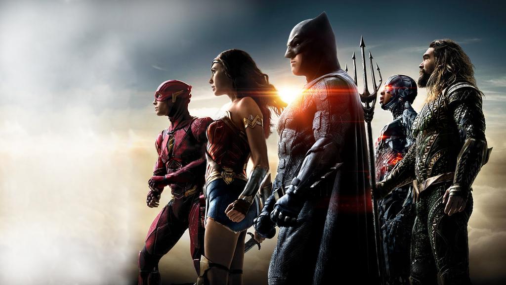 Justice League Wallpaper Widescreem by BatmanMoumen on