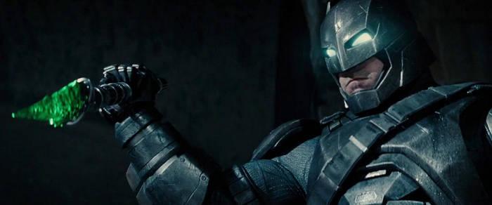 Batman v Superman Max Seal Batsuit Spear by BatmanMoumen