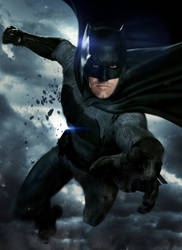 Batman Affleck BvS by UNKNOWN by BatmanMoumen