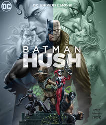 Batman-Hush Animated Movie-Cover by BatmanMoumen