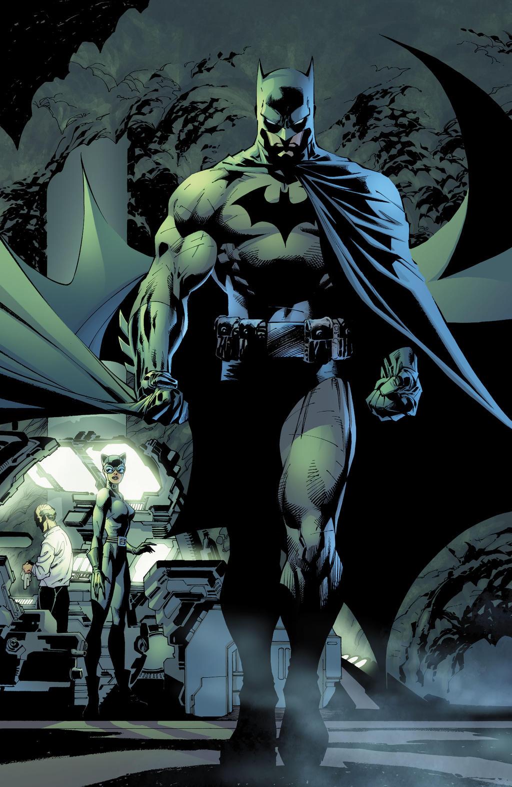 Batman Hush By Jim Lee By Batmanmoumen On Deviantart