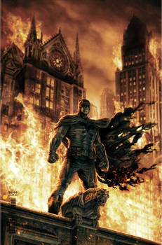 Batman cover by Lee Bermejo