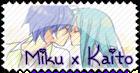 Miku x Kaito Stamp by RanmaGirlSaotome