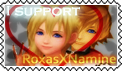 RoxasXNamine Stamp by RanmaGirlSaotome