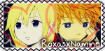 RoxasxNamine stamp :3 by RanmaGirlSaotome