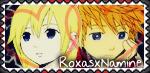 RoxasxNamine stamp :3 by RanmaGirlSaotome