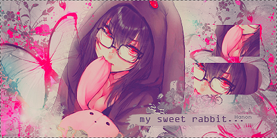 My sweet rabbit... by RanmaGirlSaotome