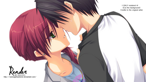 Couple Render by RanmaGirlSaotome
