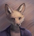 Pastel Fox Sketch