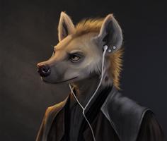 Hyena by apricotjackal