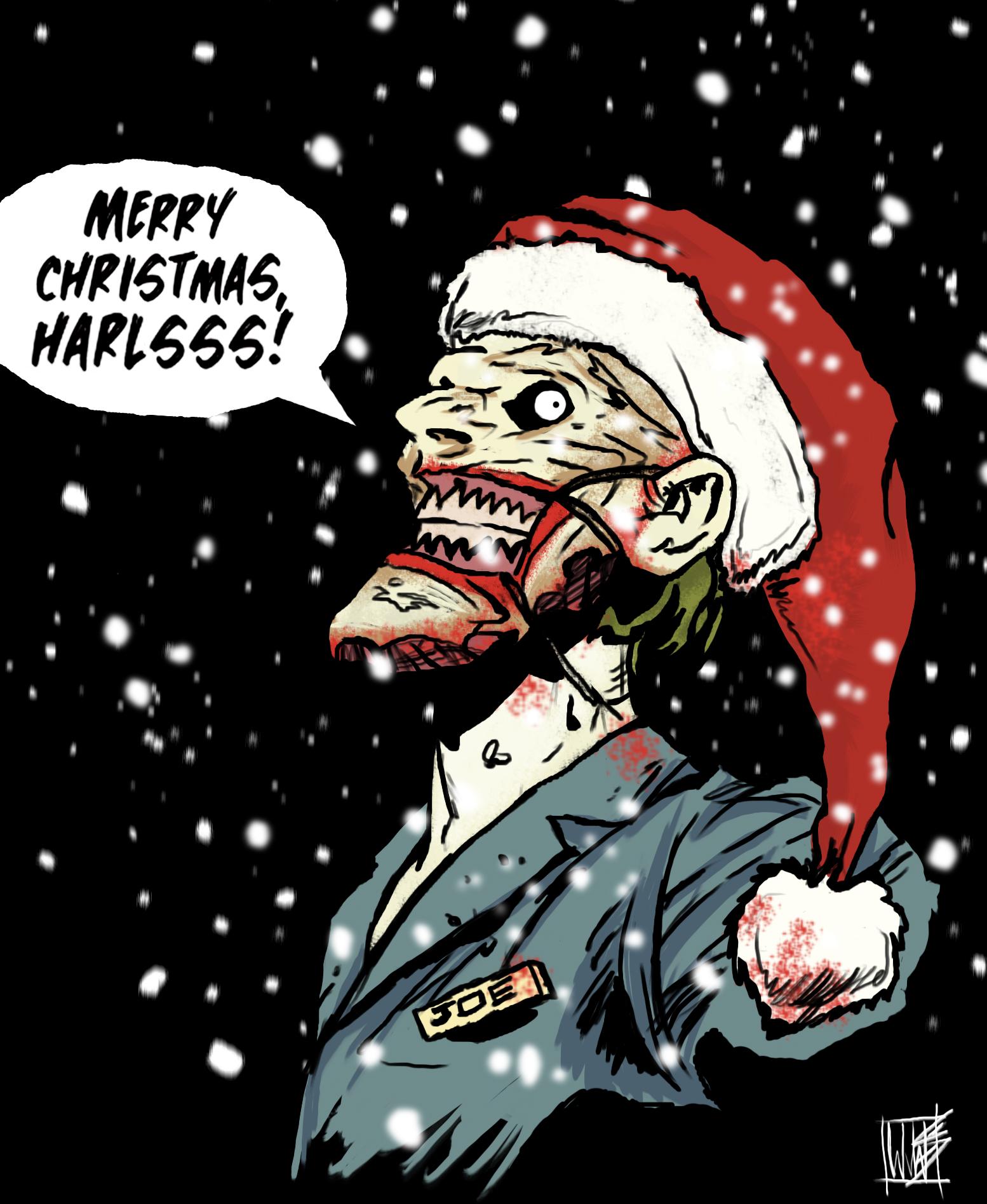 Joker Christmas.Merry Christmas From The New 52 Joker By Novembermilk On