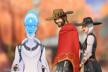 Distracted McCree Meme by SoloGi98