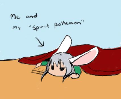 My Spirit Pokemon by Yoriden