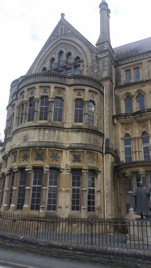 original Aberystwyth CollegeUniversity building