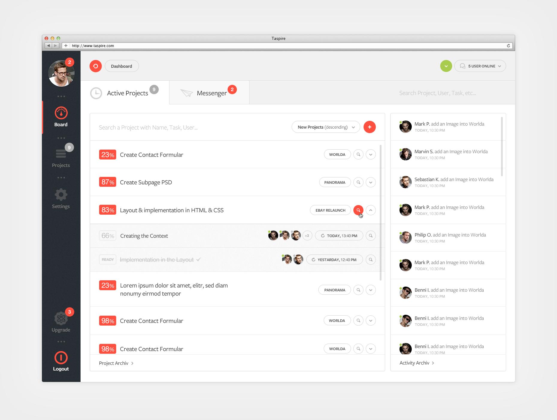 Dashboard Online Tool
