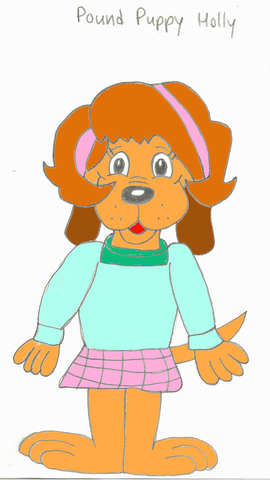 Pound Puppy Holly by Solarpunk90 on DeviantArt