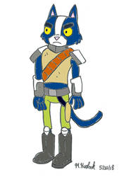 Stoic-Cato (Final Space) by Solarpunk90