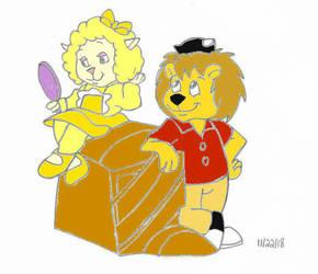 Rudyard And Woolma (The Getalong Gang) by Solarpunk90