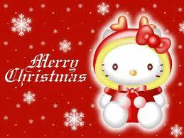 Hello Kitty Christmas Poster by hello-kitty-hugs