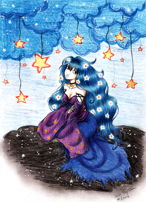 Lady of Star by Lumi-Icetar