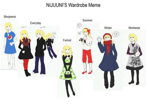 Wardrobe Meme