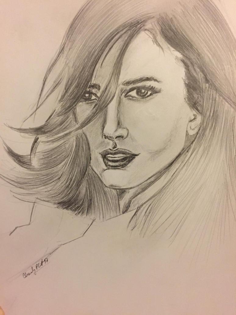 woman portrait by charlyplan