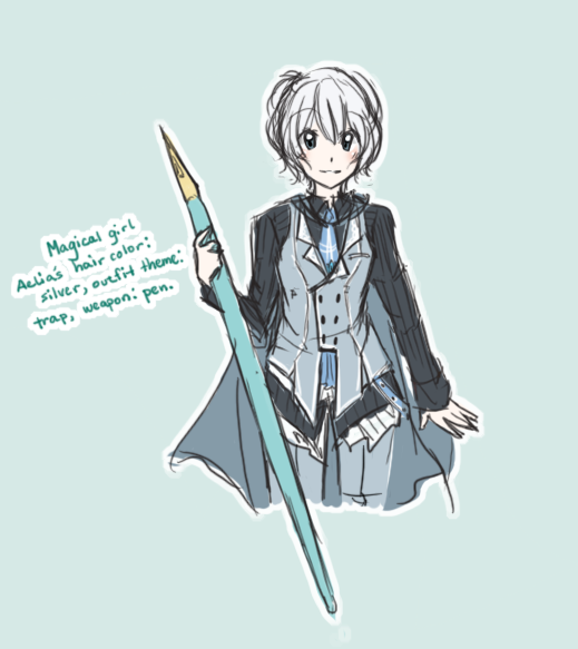 MAGE: magical girl aelia is by DustBunnyThumper on DeviantArt