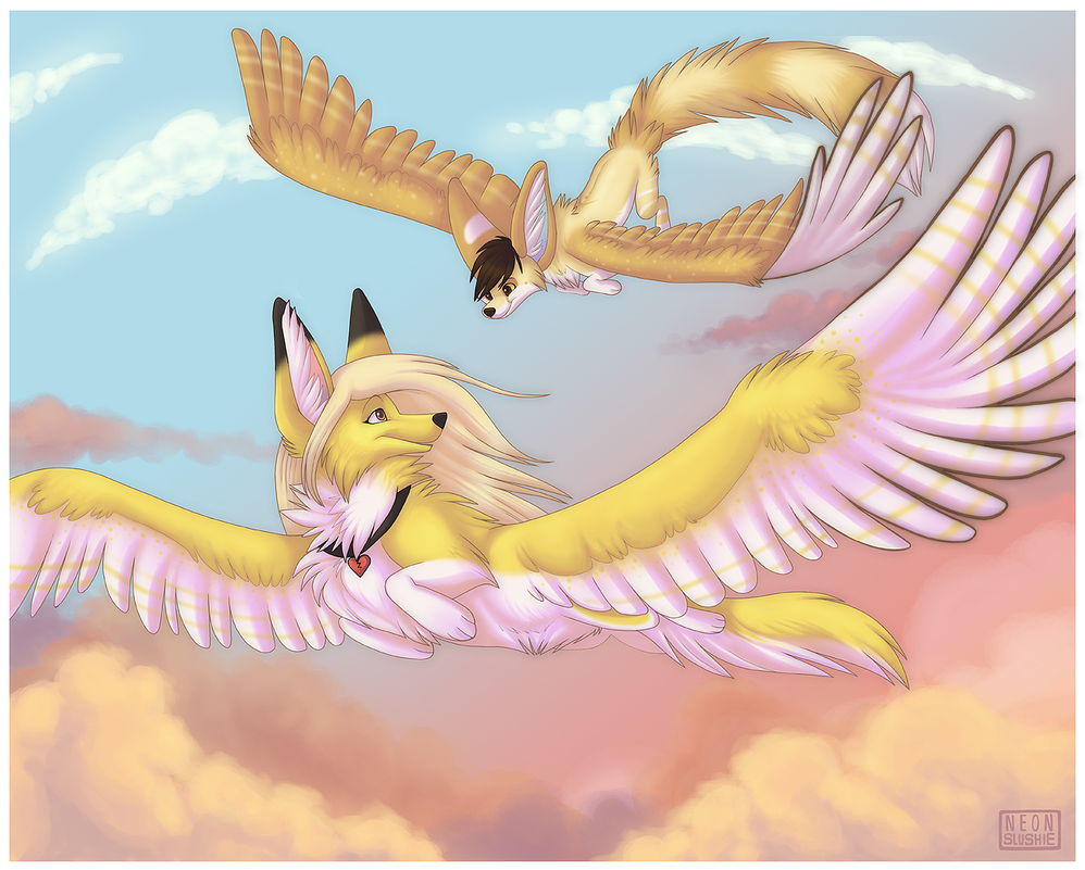 Come Fly With Me - Collab by NeonSlushie