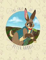 The Tale of Peter Rabbit - Cover by NeonSlushie