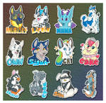 Anthrocon Takehome Badges