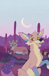 The Painted Desert by NeonSlushie