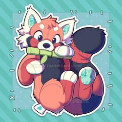 Red Panda Plush - February by NeonSlushie
