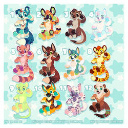 Adoptables with Sunneflyer SOLD