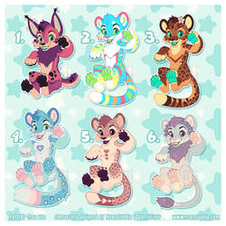 Charity Medical Fund Adoptables - SOLD