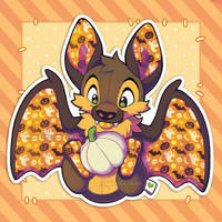 Bat Plush - October