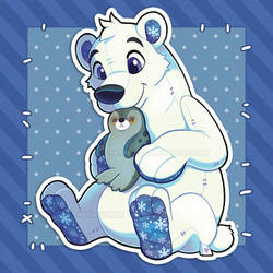 Polar Bear Plush - December