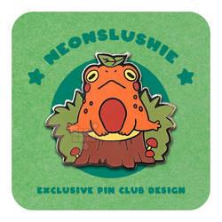 Pin Club - American Toad