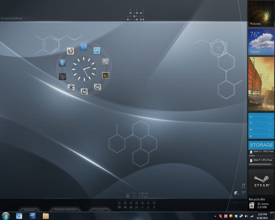 Future Desktop by ArchonofFate