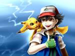 Ash doodle by TemeroHimitaki