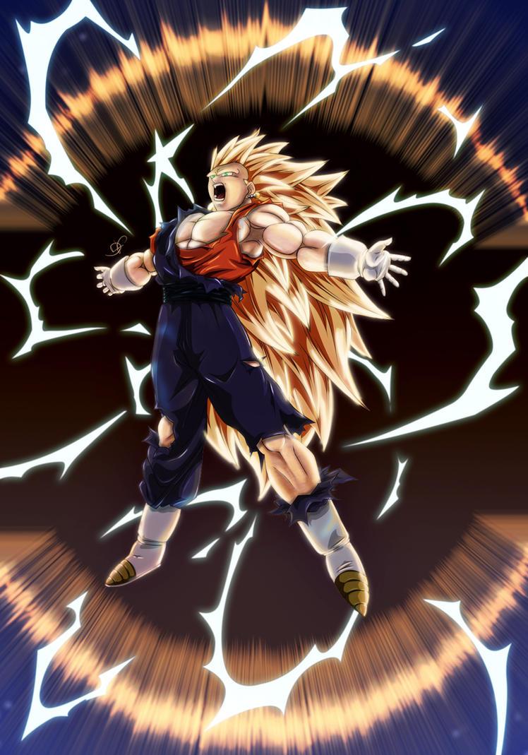 Goku vs broly fan animation - 4 10