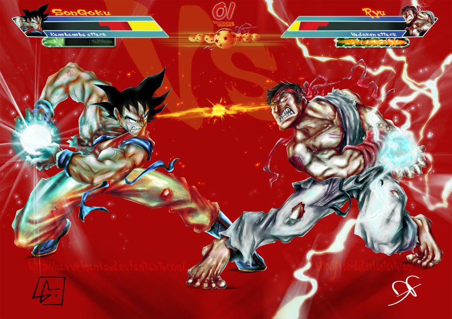 dbz vs street fighter - photo #8
